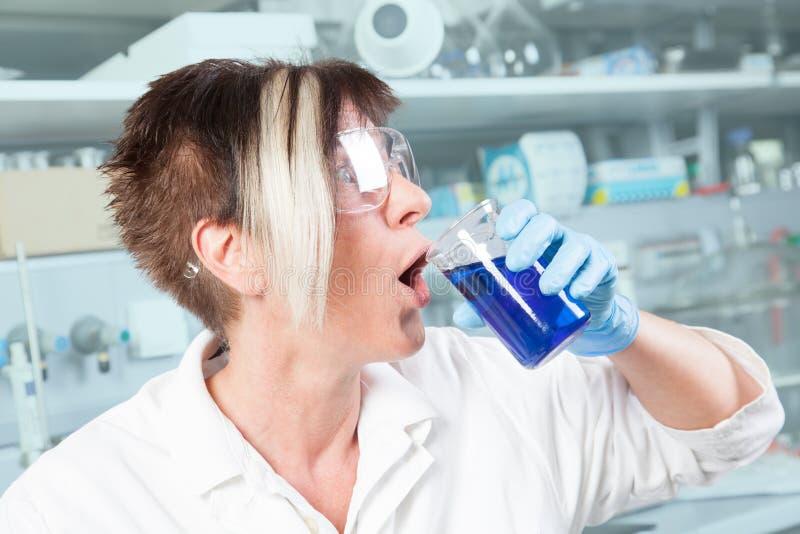 Λάθος φαρμακοποιών στοκ φωτογραφία με δικαίωμα ελεύθερης χρήσης