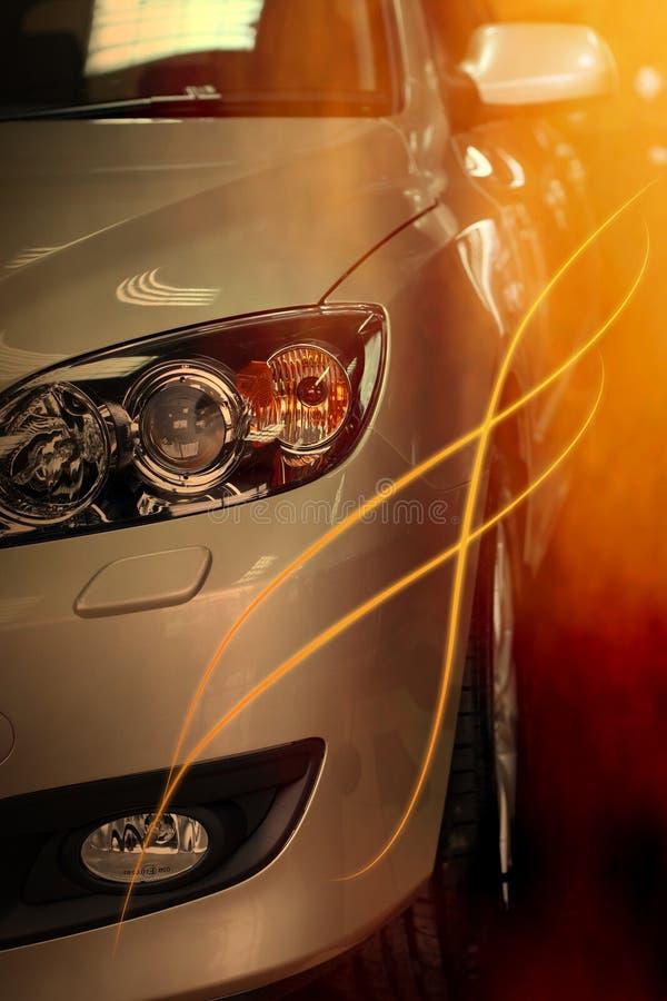λάμψη αυτοκινήτων στοκ εικόνες με δικαίωμα ελεύθερης χρήσης