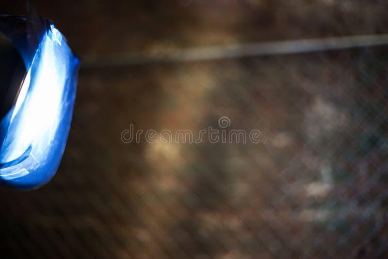 Λάμψη στούντιο με το μπλε φίλτρο στοκ φωτογραφία με δικαίωμα ελεύθερης χρήσης