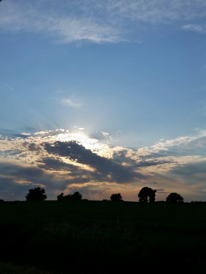 Λάμψτε ουρανός στοκ φωτογραφία