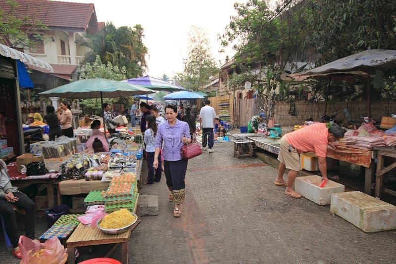 Λάος luang prabang στοκ εικόνες με δικαίωμα ελεύθερης χρήσης
