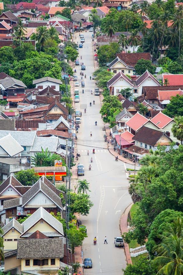 Λάος luang prabang στοκ φωτογραφία με δικαίωμα ελεύθερης χρήσης