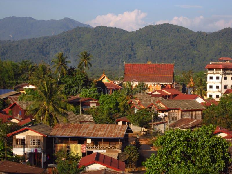 Λάος vang vieng στοκ φωτογραφία με δικαίωμα ελεύθερης χρήσης
