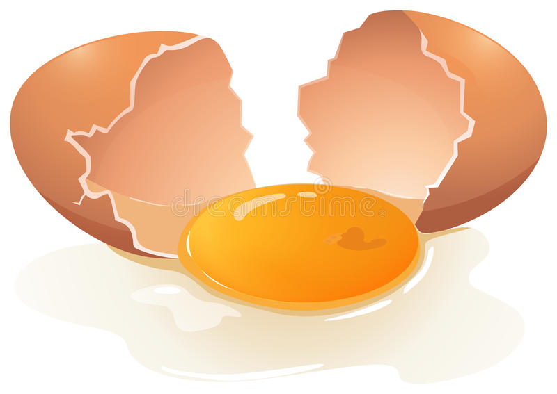 Λέκιθος αυγών ελεύθερη απεικόνιση δικαιώματος