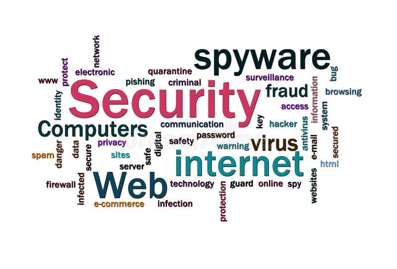 Download λέξεις ασφάλειας σύννεφ&ome Απεικόνιση αποθεμάτων - εικονογραφία από δίκτυο, κώδικας: 17059999