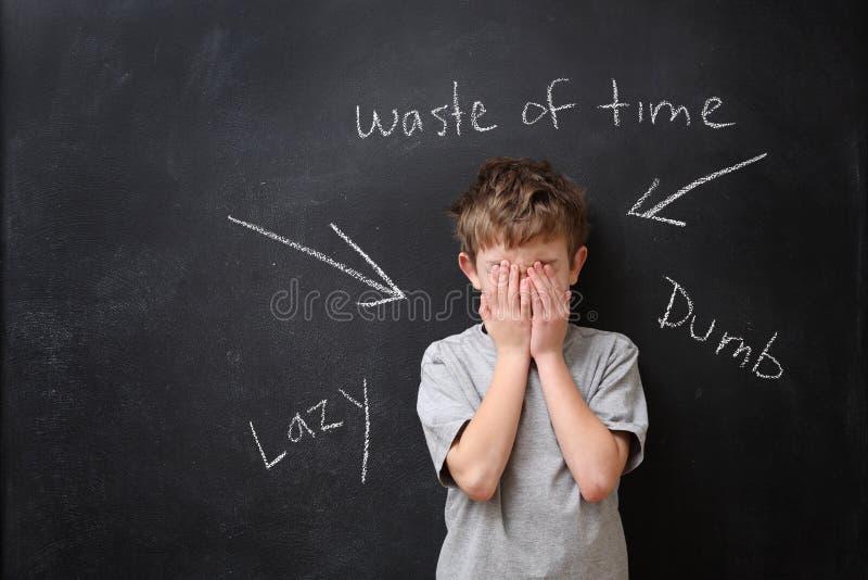 Λέξεις που βλάπτονται καταχρηστικές στοκ εικόνα με δικαίωμα ελεύθερης χρήσης