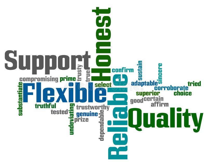 λέξεις υποστήριξης αξιο&pi απεικόνιση αποθεμάτων