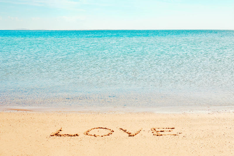 λέξη αγάπης στοκ εικόνες