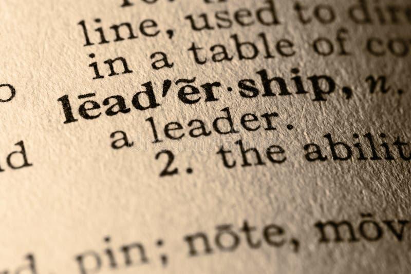 λέξη ηγεσίας στοκ φωτογραφίες με δικαίωμα ελεύθερης χρήσης