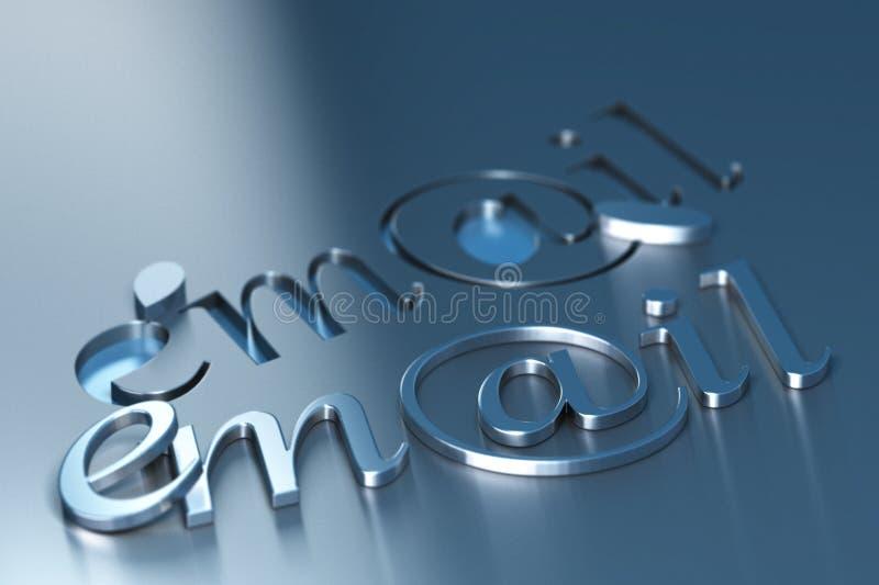 λέξη ηλεκτρονικού ταχυδ&r ελεύθερη απεικόνιση δικαιώματος