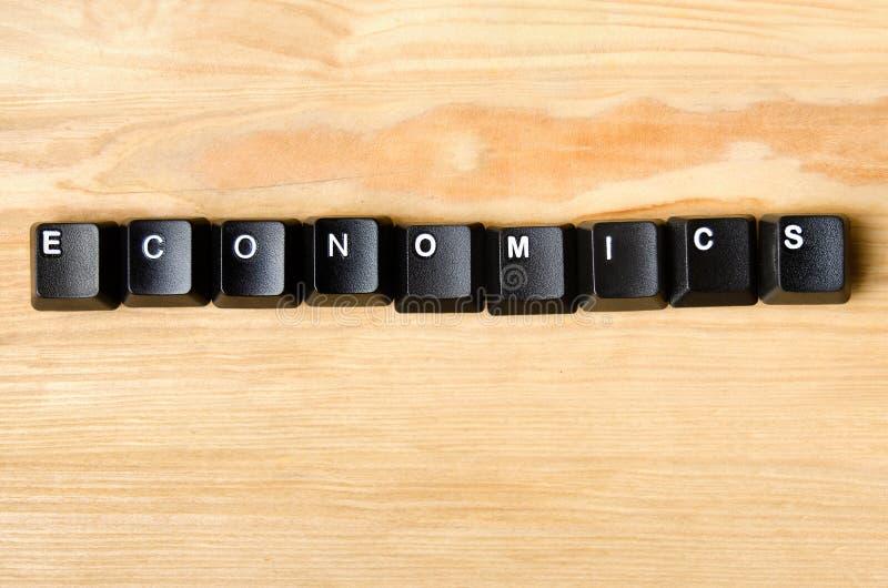 Λέξη οικονομικών στοκ εικόνα με δικαίωμα ελεύθερης χρήσης