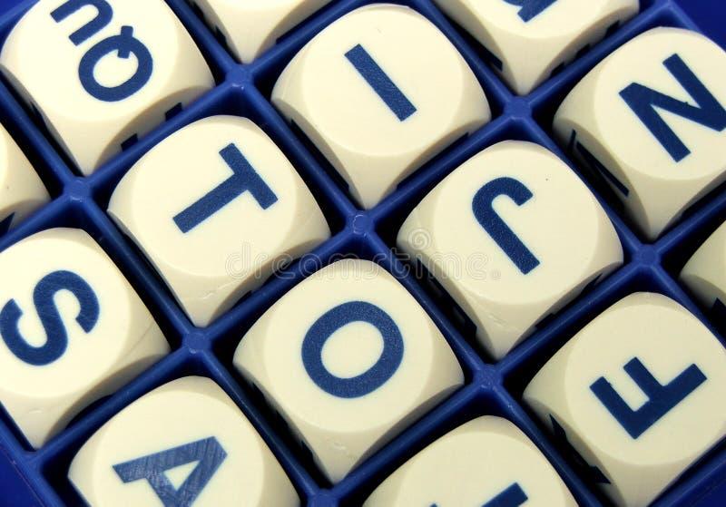 λέξη παιχνιδιών στοκ εικόνα με δικαίωμα ελεύθερης χρήσης