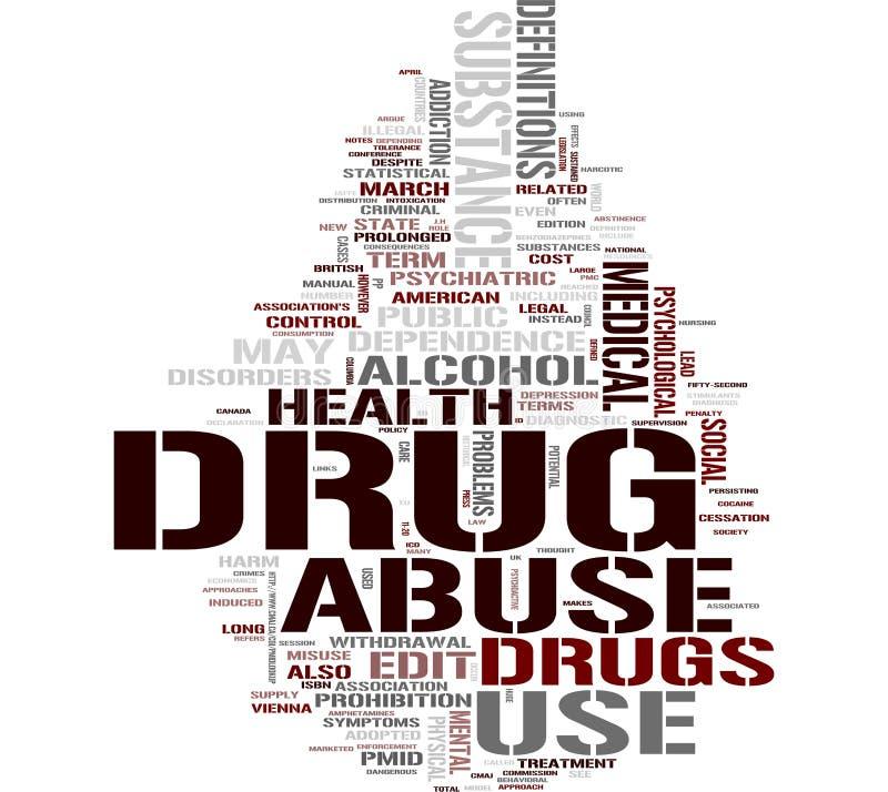 λέξη φαρμάκων σύννεφων ελεύθερη απεικόνιση δικαιώματος