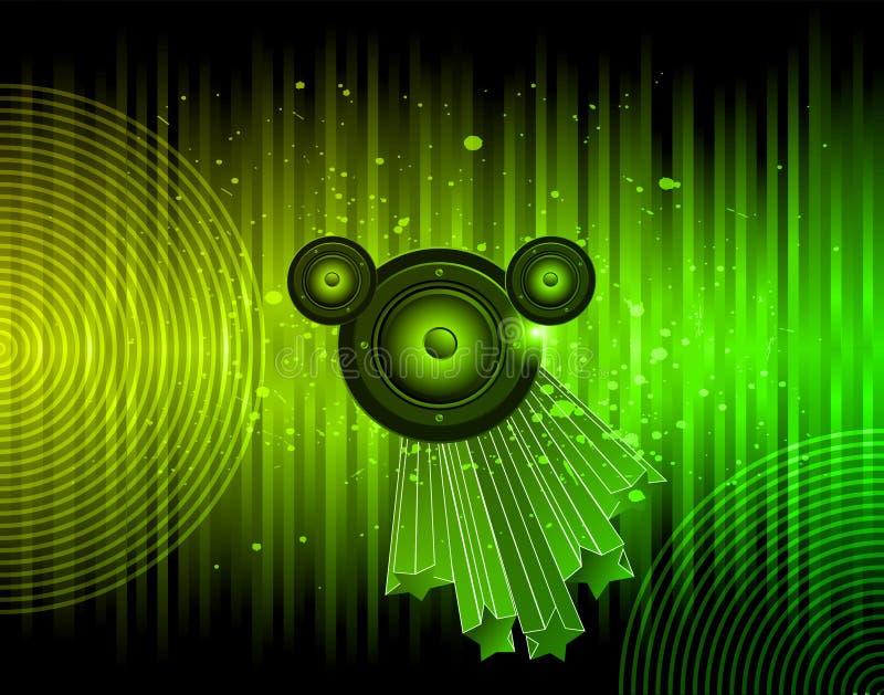Λέσχη Disco flayer ελεύθερη απεικόνιση δικαιώματος