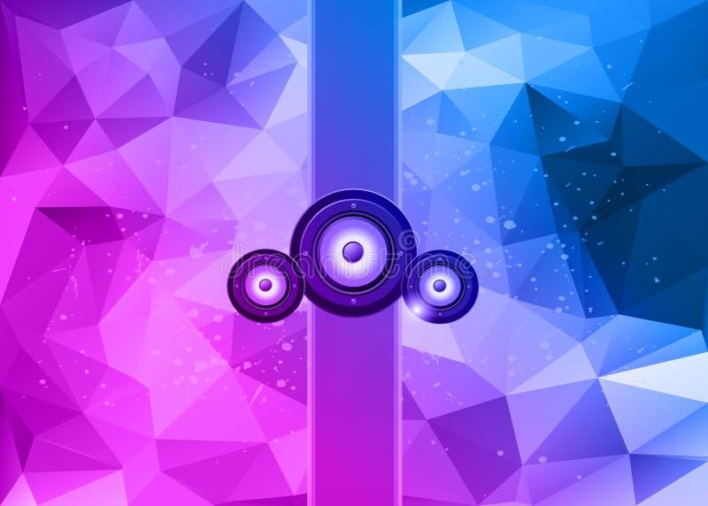 Λέσχη Disco flayer απεικόνιση αποθεμάτων