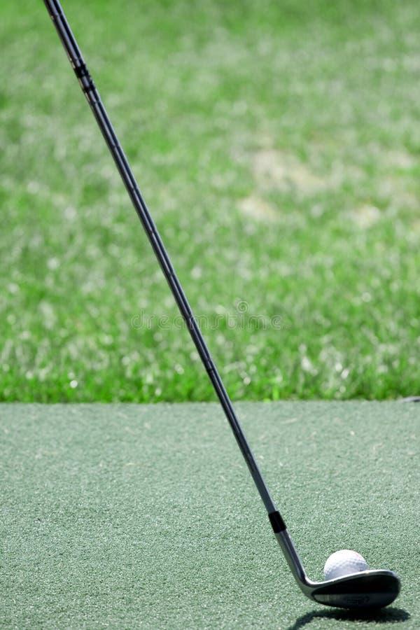 λέσχη golfball στοκ εικόνες με δικαίωμα ελεύθερης χρήσης