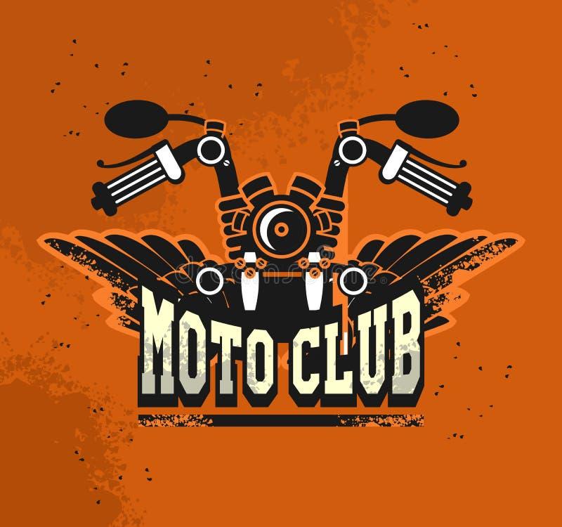 Λέσχη moto λογότυπων διανυσματική απεικόνιση