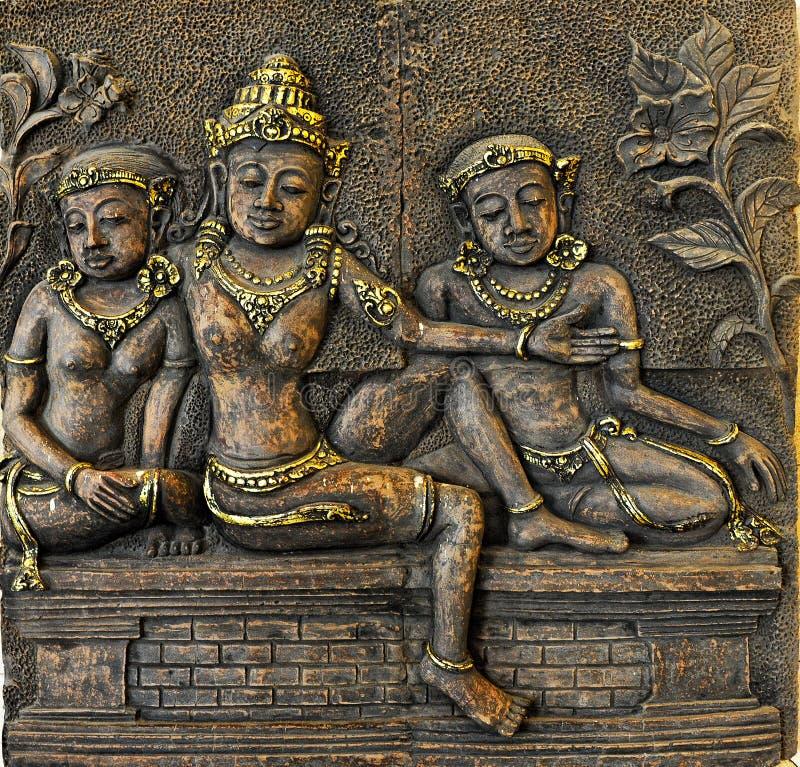 Τρεις γυναίκες του Μπαλί στοκ εικόνες