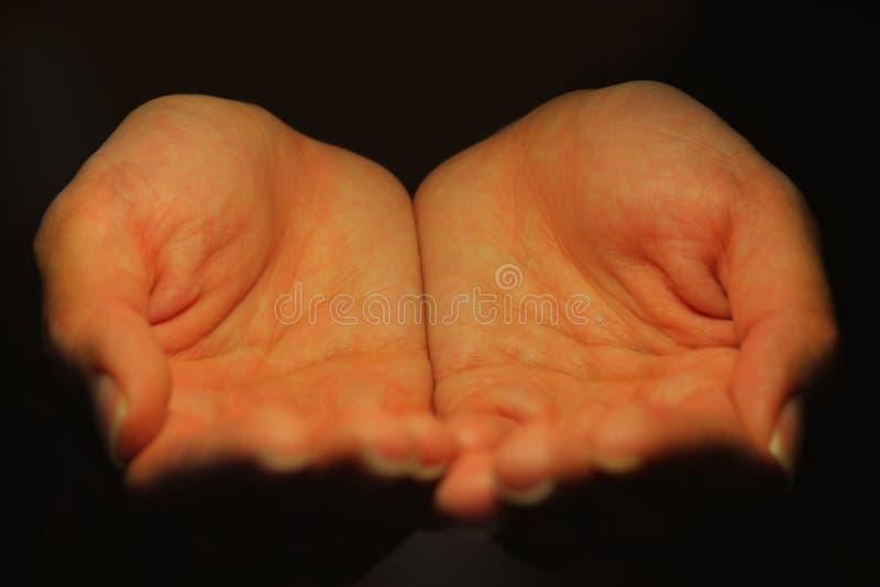 λήψη χεριών στοκ φωτογραφίες