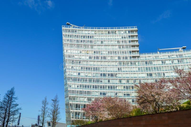 Λίβερπουλ, UK - 3 Απριλίου 2015 - Λίβερπουλ ένα κτήριο στοκ εικόνες