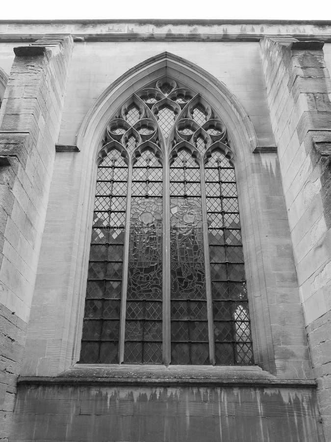 Λίγη εκκλησία του ST Mary στο Καίμπριτζ σε γραπτό στοκ εικόνες