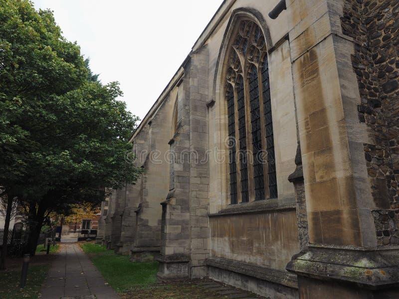 Λίγη εκκλησία του ST Mary στο Καίμπριτζ στοκ εικόνες