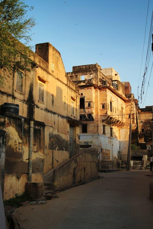 Λίγη ινδική οδός στοκ εικόνα