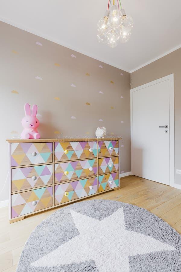 Λίγη ιδέα δωματίων πριγκηπισσών στοκ εικόνες