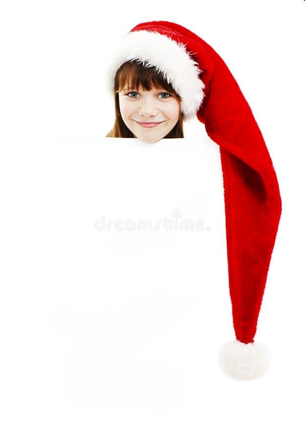 Λίγη παρουσίαση κοριτσιών Χριστουγέννων στοκ εικόνες με δικαίωμα ελεύθερης χρήσης