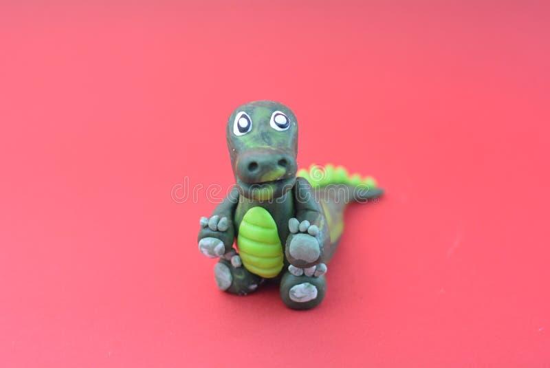 Λίγος δεινόσαυρος του κέικ στοκ φωτογραφίες με δικαίωμα ελεύθερης χρήσης