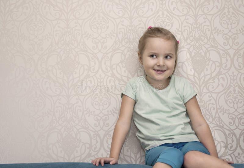Λίγο άτακτο κορίτσι στοκ φωτογραφία με δικαίωμα ελεύθερης χρήσης