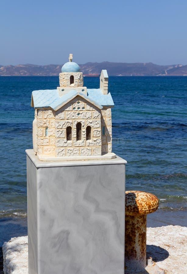 Λίγο αναμνηστικό παρεκκλησι στην Ελλάδα στοκ φωτογραφία με δικαίωμα ελεύθερης χρήσης