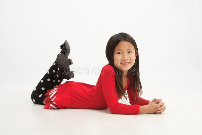 Λίγο ασιατικό κορίτσι 1 στοκ εικόνες