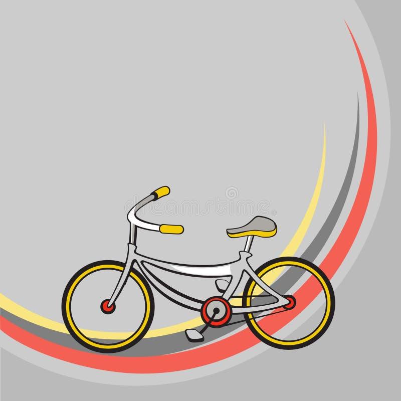 Λίγο αστείο ποδήλατο ελεύθερη απεικόνιση δικαιώματος