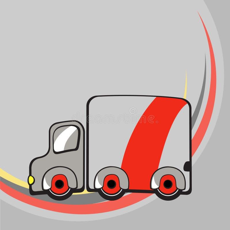 Λίγο αστείο truck διανυσματική απεικόνιση