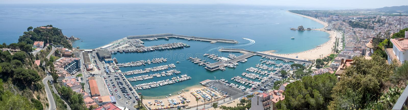 Λίγο λιμάνι στοκ εικόνες