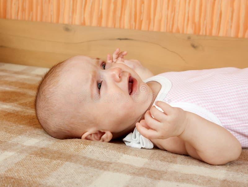 Λίγο να φωνάξει μωρών στοκ φωτογραφίες με δικαίωμα ελεύθερης χρήσης