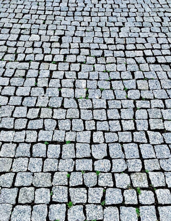Λίγο πεζοδρόμιο πετρών στοκ φωτογραφίες