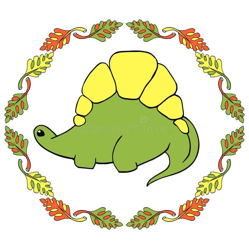 Λίγο σύνολο του Dino διανυσματική απεικόνιση