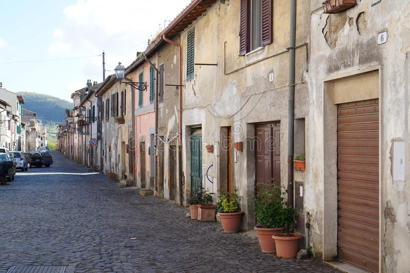 Λίγο χωριό, Ιταλία στοκ φωτογραφία με δικαίωμα ελεύθερης χρήσης
