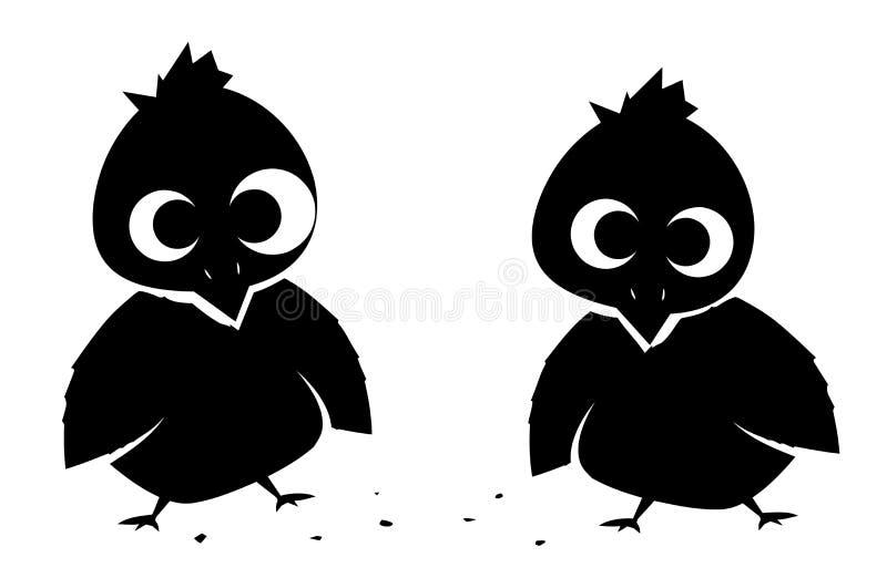 Λίγο Birdies (διάνυσμα) στοκ φωτογραφία