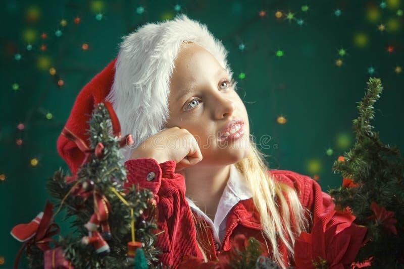 Λίγο Santa στοκ εικόνα