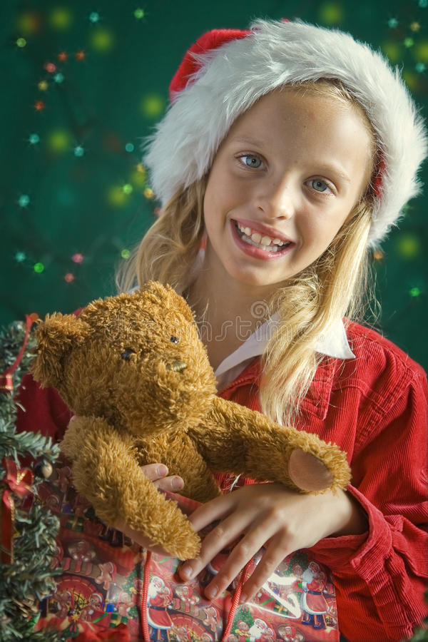 Λίγο Santa στοκ εικόνα με δικαίωμα ελεύθερης χρήσης