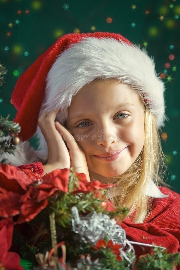 Λίγο Santa στοκ εικόνες