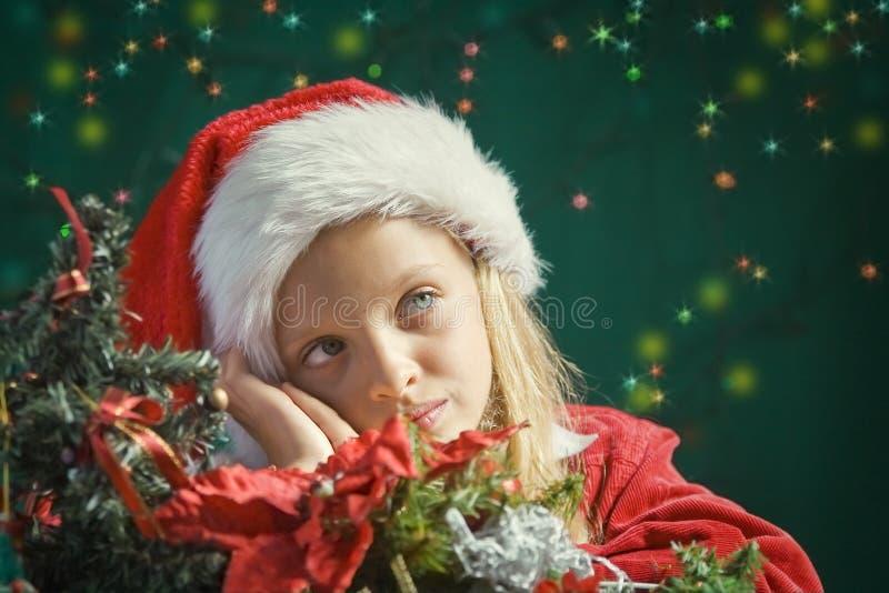 Λίγο Santa στοκ εικόνες με δικαίωμα ελεύθερης χρήσης