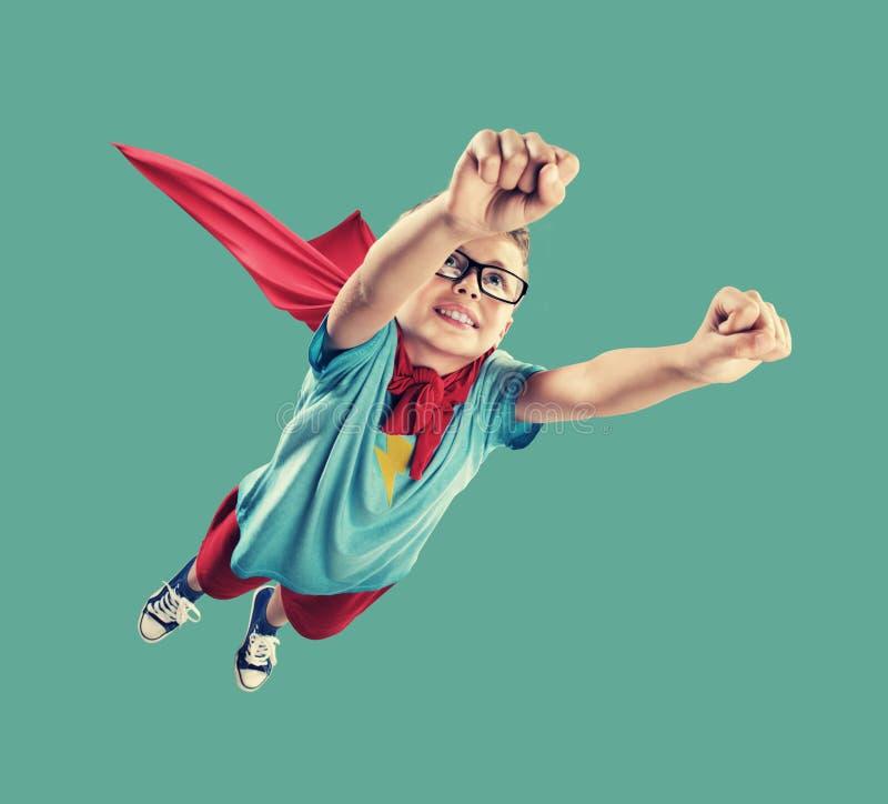 Λίγο Superhero στοκ εικόνα