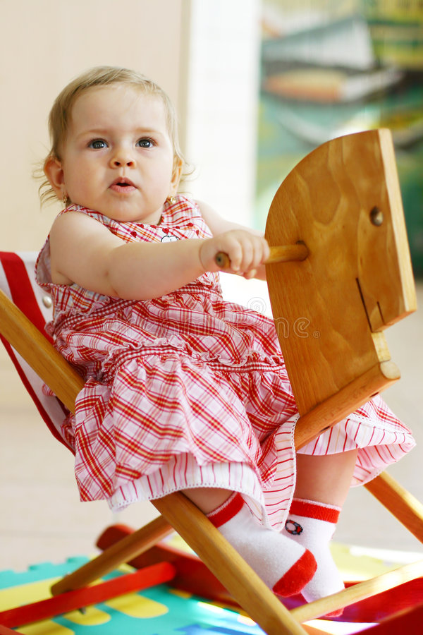 λίκνισμα αλόγων μωρών στοκ εικόνες με δικαίωμα ελεύθερης χρήσης