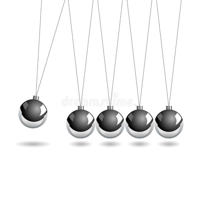 λίκνο newtons ελεύθερη απεικόνιση δικαιώματος