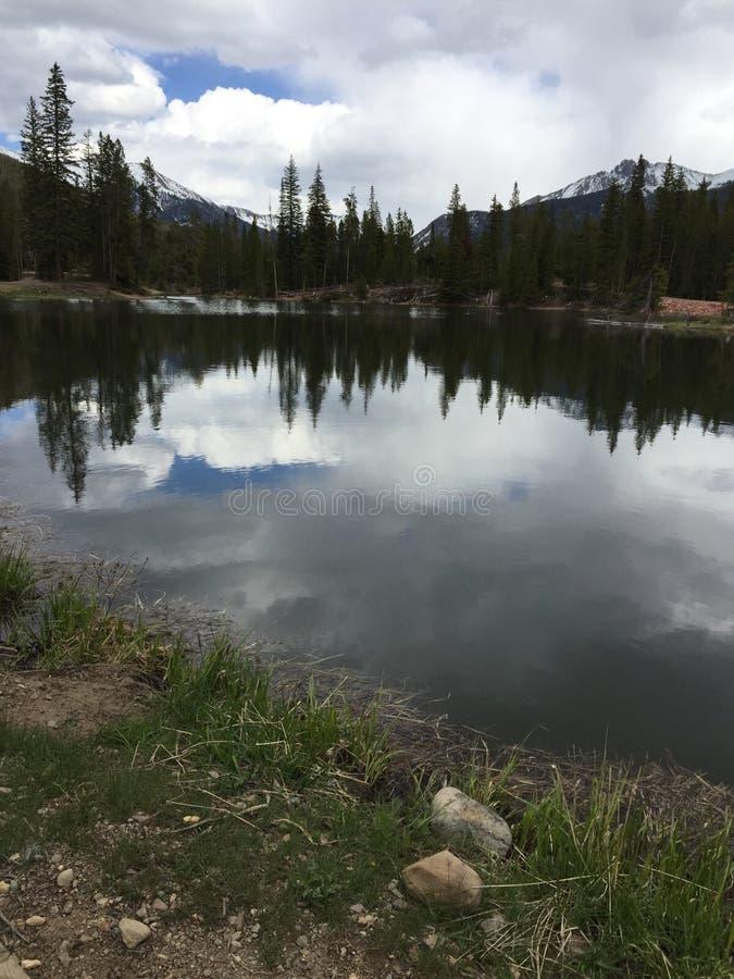 Λίμνες Κολοράντο δασοφυλάκων στοκ εικόνες