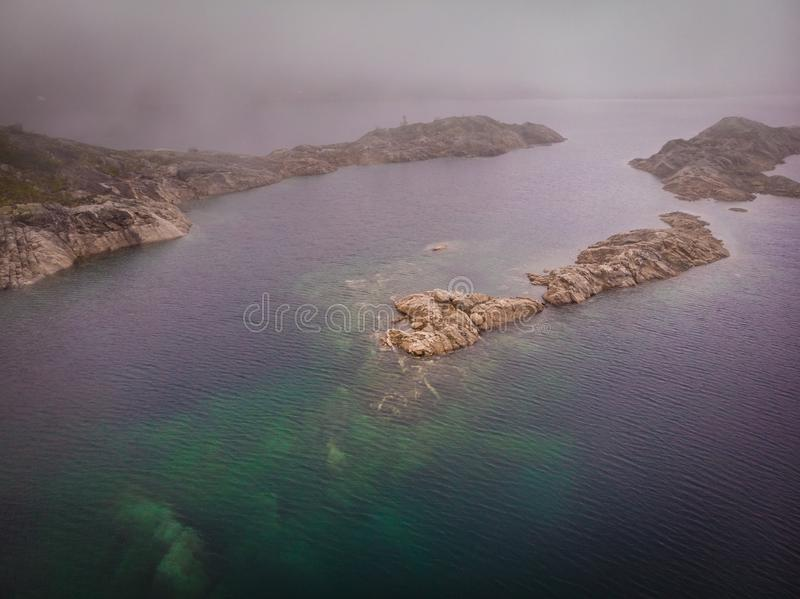 Λίμνες στα βουνά Νορβηγία στοκ εικόνες